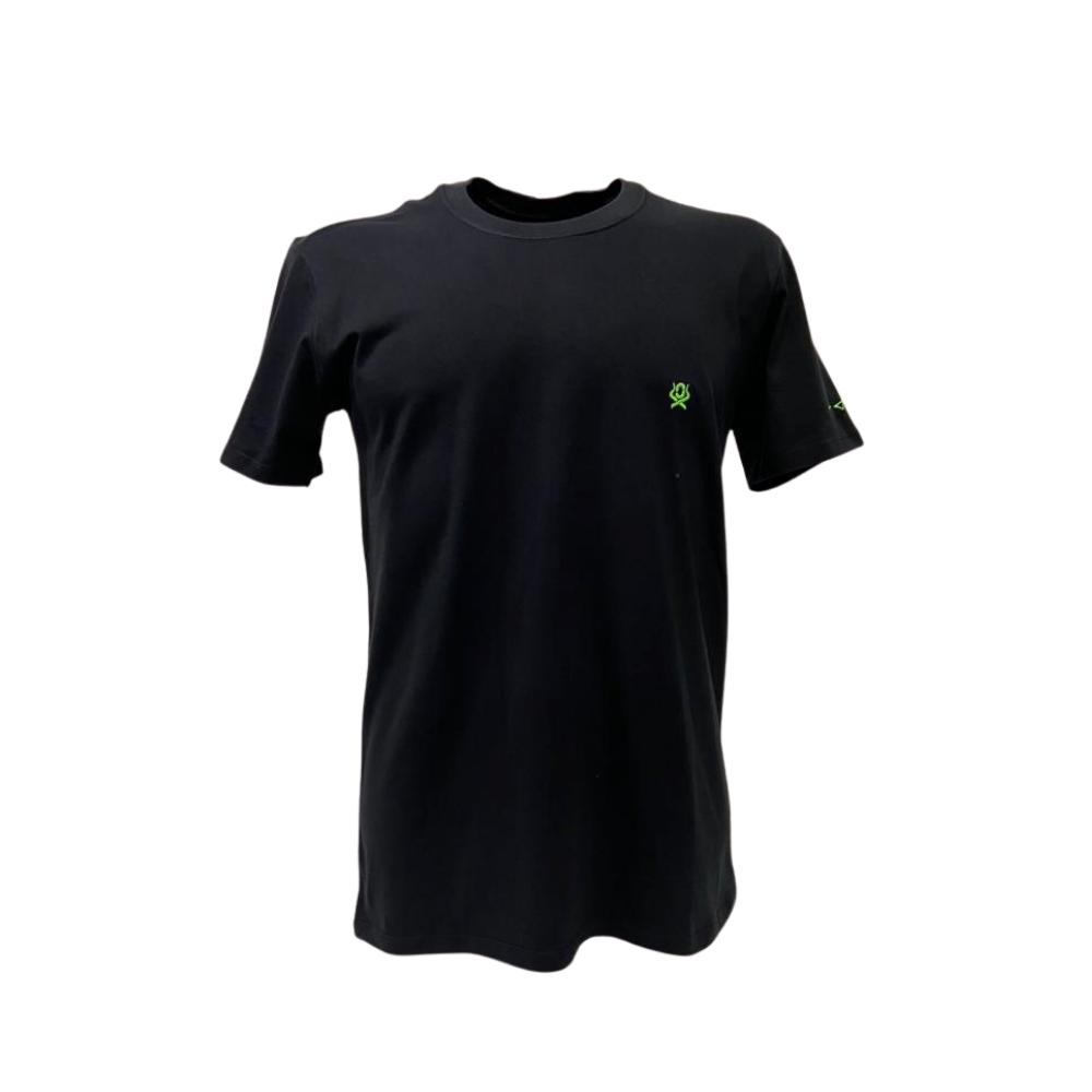 Camiseta Masculina Ox Horns Básico Preto   Ref: 8001