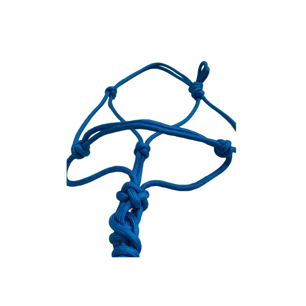 Cabresto Em Corda de Nylon Badana Azul