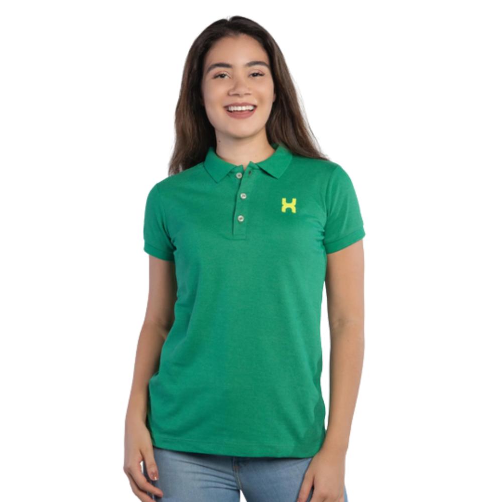 Camiseta Polo Country Feminina TXC Verde