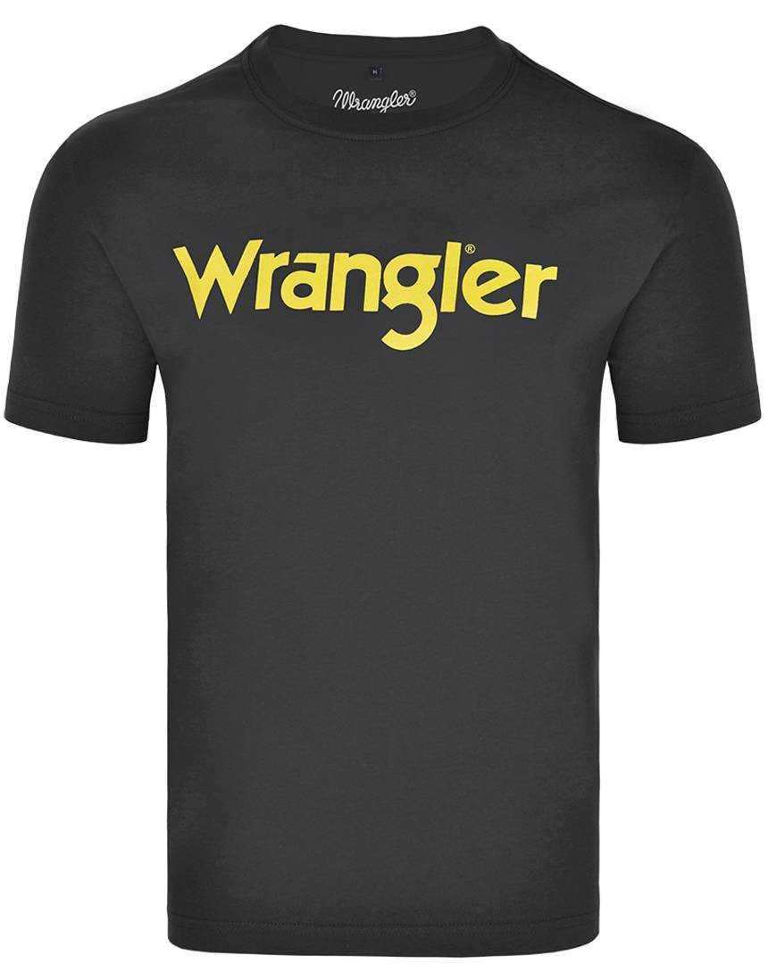Camiseta Masculina Wrangler Preta