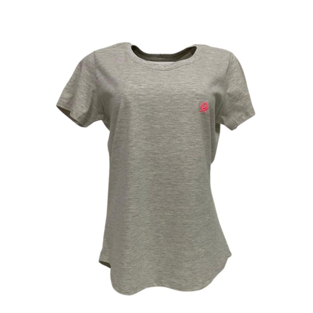 Camiseta Feminina Ox T Shirt Básica - Bege Ref: 8026