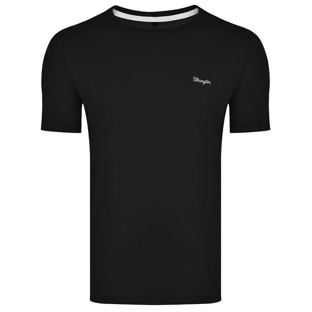 Camiseta Masculina Wrangler Preto Ref: WM8100PR