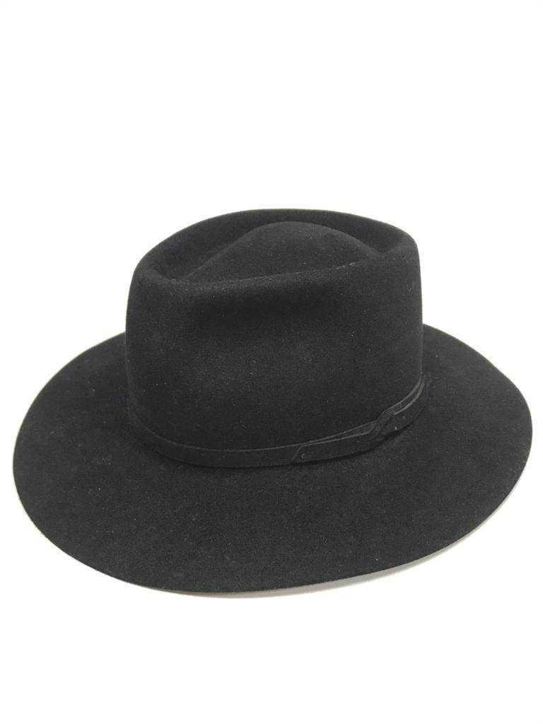 Chapéu Cury Pelo de Lebre Cavalgada Preto