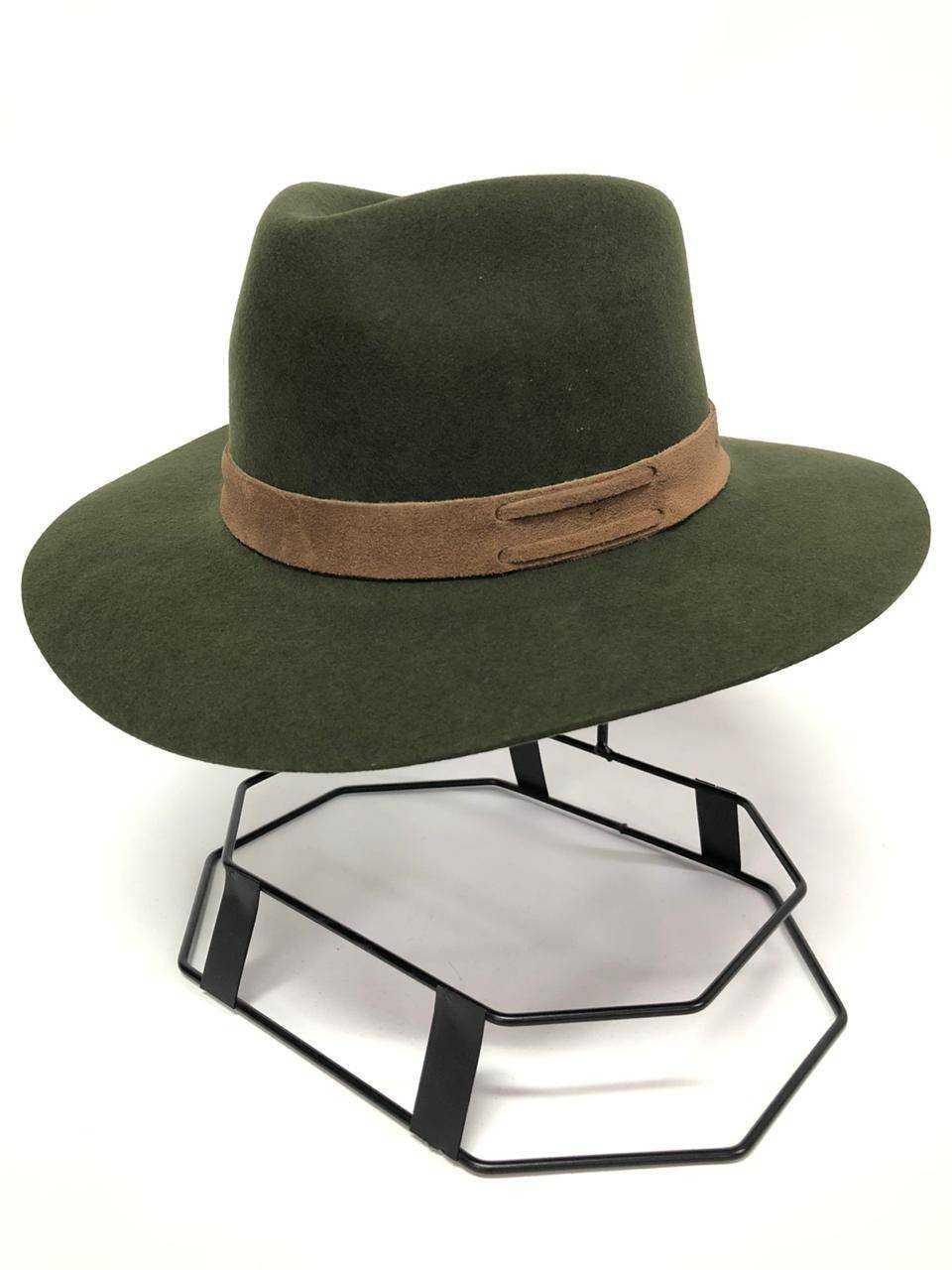 Chapéu Pralana Casual Laçador Verde Aba 9