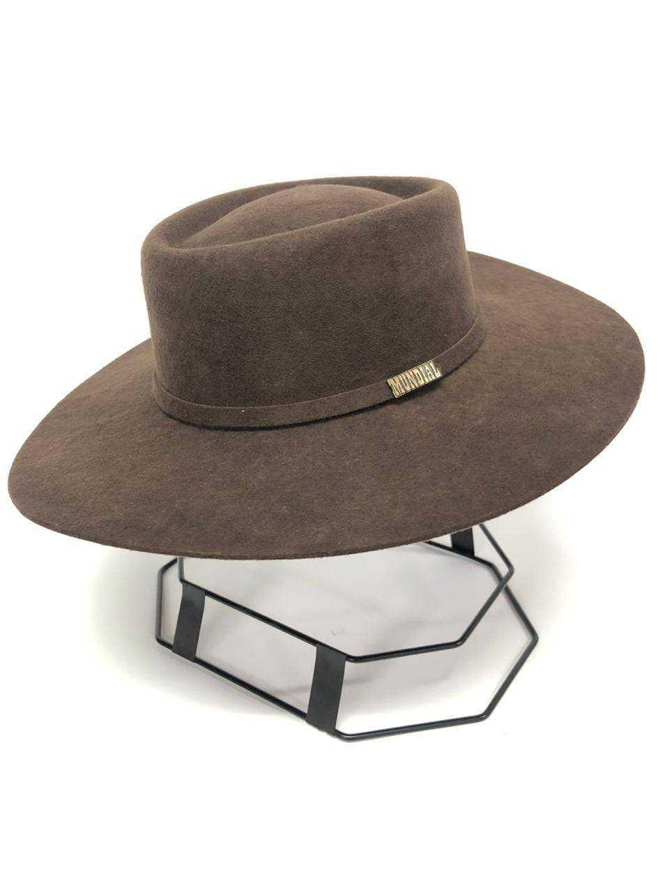 Chapéu Mundial Gaúcho Campeiro Chocolate
