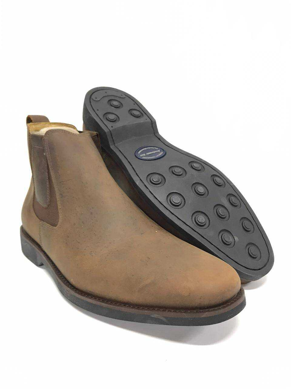 Botina Anatomic Gel Mustang Brown Ref. 5653
