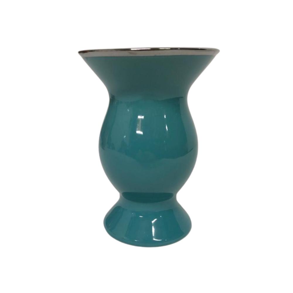 Cuia de Chimarrão Bortonaggio de Porcelana Azul