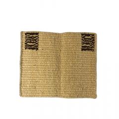 Baixeiro de Lã Badana Amarelo