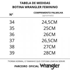 Botina Feminina Wrangler Fossil Tabaco - REF WF66B2
