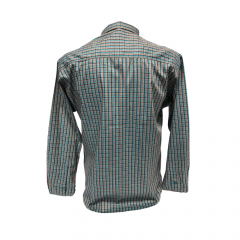 Camisa Masculina Classic Xadrez Verde Ref: 1908