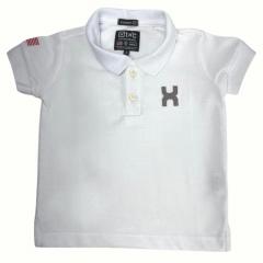 Camiseta Polo Infantil TXC Branco Ref.: 28034