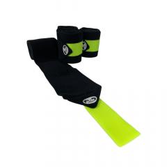 Liga de Descanso Preta com Verde Neon Boots Horse REF 9592