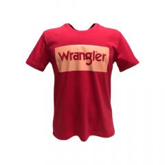 Camiseta Masculina Wrangler Vermelho Ref: WM8102VM