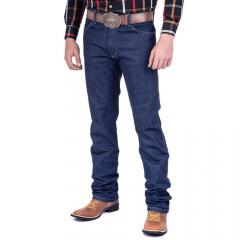 Calça Jeans Masculina Wrangler Azul Escura Elastic