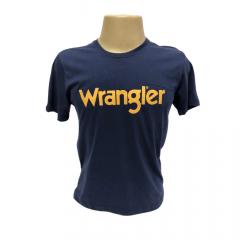 Camiseta Masculina Wrangler Azul