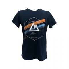 Camiseta Masculina All Terrain Azul Escuro