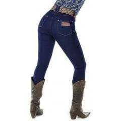 Calça Jeans Feminina Radade Skinny CF Lycra Hot Blue
