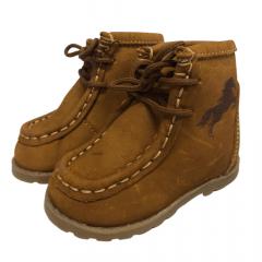 Coturno Infantil Country Big Bull Boots Baby Nobuck Castor