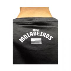 Camiseta Masculina Os Moiadeiros Preta