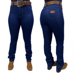 Calça Jeans Feminina Reta Badana 09 - Midnight Blue Alabama