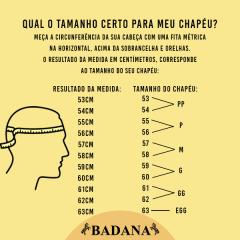 Chapéu Social Pralana Panamá Algas Amarelo Aba 7