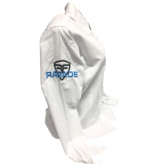 Camisa Radade Feminina Branca Bordado Azul Ram 2020