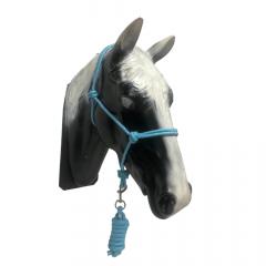 Cabresto Em Corda Boots Horse Azul Bebê