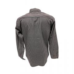 Camisa Masculina Classic Xadrez Bordô  Ref: 712