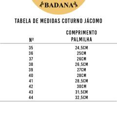 Coturno Tênis Country Jácomo Fóssil Tabaco - Ref. T004/US