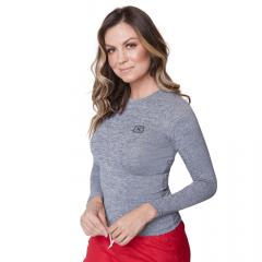 Camiseta Feminina TXC X-Sweat Térmica Mescla Ref.: 4848