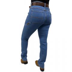 Calça Carpinteira Feminina For Texas Azul Claro