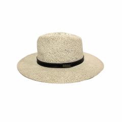 Chapéu Mundial Panamá Algas Branco Aba 8