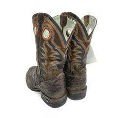 Bota Texana Masculina Rodeo Way Escamada