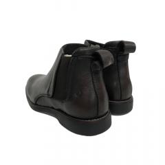 Sapato Botina Masculina Sollu Soft Smoky Pinhão