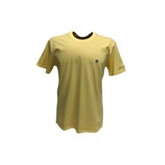 Camiseta Masculina Ox Horns Amarela Básica REF 8003
