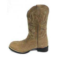 Bota Texana Country Masculina Goyazes Nobuck
