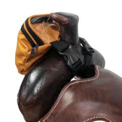 Pochete Para Sela Boots Horse Amarela