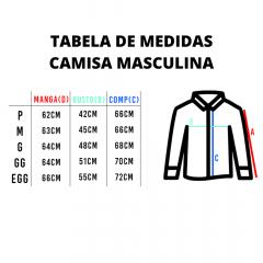 Camisa Country Masculina TXC Xadrez Azul