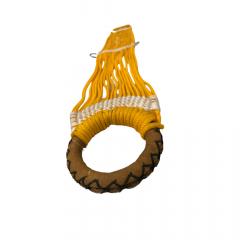 Barrigueira de Barbante Badana Amarelo