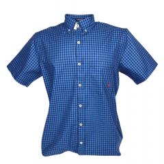Camisa Infantil TXC Azul Xadrez Ref.: 17113C1