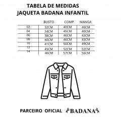 Jaqueta Infantil Badana PBR - Cinza