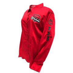 Camisa Radade Feminina Vermelha Bordada Ram Lançamento 2020