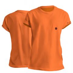 Camiseta T Shirt Feminina Ox Horns Básica Laranja Ref: 8037