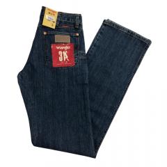 Calça Jeans Wrangler Masculina Azul Escuro Slim Fit
