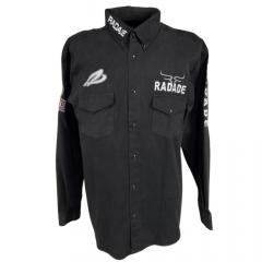 Camisa Masculina Pluz Size Radade Preta - Ref: 0046