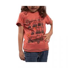 Camiseta T Shirt Infantil Miss Country Goiaba Ref.: 0705