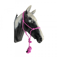 Cabresto Corda de Nylon Boots Horse Rosa Ref.: 9772