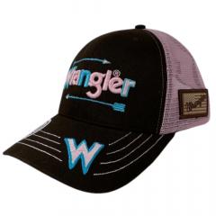 Boné Unissex Wrangler Truck Marrom e Rosa REF:WMC653