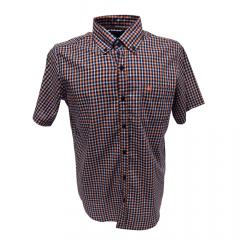 Camisa Country Masculina 2K Jeans Laranja