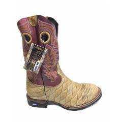 Bota Texana Masculina Rodeo Way Escamada